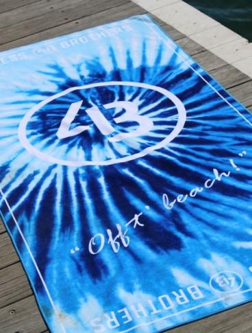 [PREORDER] 4B Ocean Spiral Beach Towel